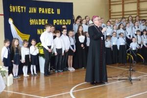 Wizyta ks.biskupa w szkołach