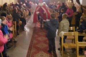 Wizyta Św. Mikołaja